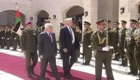MAHMUD ABBAS - Trump İle Mahmud Abbas Bir Araya Geldi