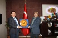 UCLG-MEWA Genel Sekreteri Duman Başkan Karaaslan'ı Ziyaret Etti