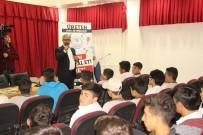 KARAKÖPRÜ - 'Üreten Gençlik' Projesinde Gazeteci Erem Şentürk Öğrencilerle Buluştu