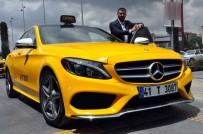 TAKSİ ÜCRETİ - 200 bin liralık lüks otomobili taksiye çevirdi! Taksimetre...