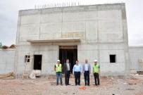 YAVUZ SULTAN SELİM - Aksaray Belediyesi, Laleli Mahallesine 5 Bin Metreküplük Dev Su Deposu Yapıyor