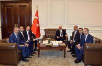 ASTOP Heyeti İçişleri Bakanı Soylu'yu Ziyaret Etti