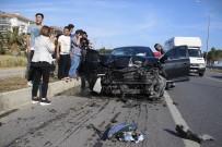 ZİNCİRLEME KAZA - Bahçeli'nin konvoyunun geçişi sırasında kaza