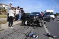 ZİNCİRLEME KAZA - Bahçeli'nin Konvoyunun Geçişi Sırasında Korkutan Kaza