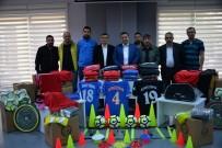 BOZÜYÜK BELEDİYESİ - Başkan Bakıcı'dan Amatör Spor Kulüplerine Malzeme Yardımı