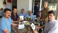 Burhaniyeli Çiftçilere Broşür Dağıtıldı
