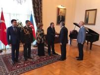 BAĞıMSıZLıK - Cumhurbaşkanlığı Başdanışmanı Topçu, Azerbaycan Cumhuriyet Bayramı Resepsiyonuna Katıldı