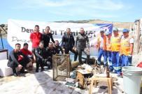 GARNIZON KOMUTANLıĞı - Deniz Dibi Temizliği Bardakçı'da Devam Etti