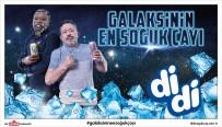PASCAL NOUMA - Didi Yeni Reklamına 'Galaksinin En Soğuk Çayı' Sloganıyla Hazırlandı