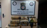 NARKOTIK - Diyarbakır'da 138 Kilogram Esrar Ele Geçirildi