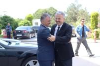 İL EMNİYET MÜDÜRLERİ - Düzensiz Göçe Yönelik Üst Düzey Koordinasyon Toplantısı Ayvalık'ta Yapıldı
