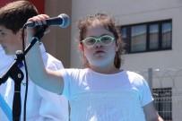 MESLEK EĞİTİMİ - Engelli Öğrenciler Doyasıya Eğlendi