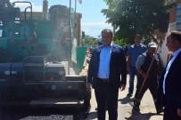 Erbaa'da Sıcak Asfalt Çalışması