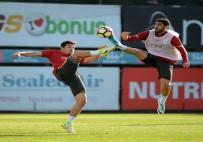 METİN OKTAY - Galatasaray'ın Alanyaspor Mesaisi Devam Etti