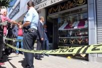 POMPALI TÜFEK - Gaziantep'te Peçeli, Maskeli Soygun Girişimi Kanlı Bitti Açıklaması 1 Ölü, 2 Yaralı