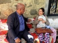 BEDENSEL ENGELLİ - Ilıcalı'dan Engelli Kadına Ziyaret