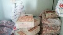 Karesi'de 590 Kilogram Kaçak Et Ele Geçirildi