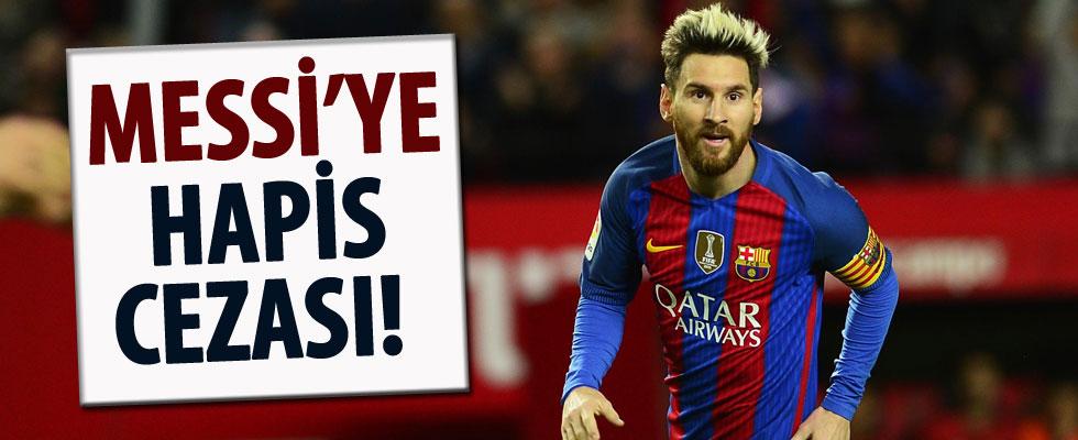 Messi'ye 21 ay hapis cezası verildi