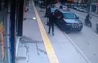Motosiklet Kazası Güvenlik Kamerasında