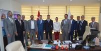 İL SAĞLIK MÜDÜRÜ - MÜSİAD İzmir'den İl Sağlık Müdürüne Ziyaret