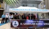 Pamukkale'de El Sanatları Sergisi