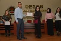 HAZIR GİYİM - Tekstil Eğitimini Tamamlayan 150 Kadına Sertifika Verildi