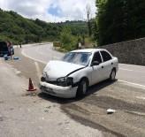 GÜNDOĞDU - Zonguldak-Ereğli Yolunda Kaza Açıklaması 1 Yaralı
