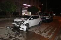 ULUDAĞ - Adana'da Trafik Kazası Açıklaması 1 Kişi Hayatını Kaybetti 1 Kişi Ağır Yaralı