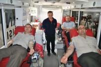 Artvin'de Jandarmadan Kan Bağışı Seferberliği