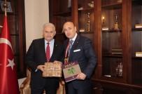 ODALAR VE BORSALAR BIRLIĞI - AYTO Başkanı Ülken'den Başbakan Binali Yıldırım'a Aydın İnciri