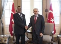 SUDAN - Başbakan Yıldırım, Sudan Cumhurbaşkanı Yardımcısı Hamid İle Görüştü