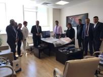 YUNUSEMRE - Başkan Çerçi Ankara'da Temaslarda Bulundu