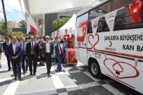 HÜSEYIN CAN - Büyükşehir Türk Kızılayı'na Kan Toplama Aracı  Hibe Etti
