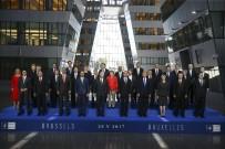 LİDERLER ZİRVESİ - Cumhurbaşkanı Erdoğan, NATO Zirvesi'nde Aile Fotoğrafı Çekimine Katıldı