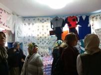 Derebucak'ta Kursiyerler El Emeği Göz Nurlarını Sergiledi