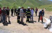 YANGINA MÜDAHALE - Emniyet Personeline 'Yangına Müdahale' Eğitimi