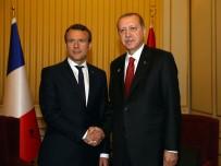 Erdoğan, Fransa Cumhurbaşkanı İle Görüştü