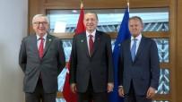 Erdoğan, Tusk Ve Juncker'le Görüştü