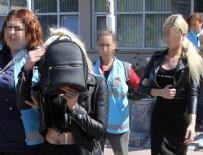 HAYDARPAŞA - Eskort kızları polisin elinden kaçırdılar!