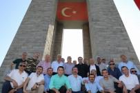 HÜSEYIN ANLAYAN - Fatsalı Muhtarlara Bursa Ve Çanakkale Gezisi