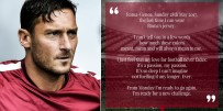 FRANCESCO TOTTI - Francesco Totti'den Roma'ya veda