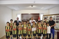 ŞEHITKAMIL BELEDIYESI - GKV Minikler Basketbol Takımı Namağlup Şampiyon