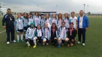 SOMA - Kız Futbol Takımından Büyük Başarı