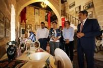 ADANA VALİSİ - KYK Adana Mahmut Sami Ramazanoğlu Öğrencileri Sergi Açtı