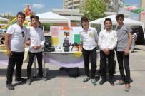 İBRAHİM OKUR - Lise Öğrencileri Bilimsel Çalışmalarını Sergiledi