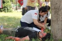 SIMÜLASYON - 'Medi Ralli' Gerçeğini Aratmadı