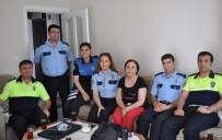 TRAFIK KAZASı - Mersin Emniyet Müdürlüğü, Şehit Ailelerini Yalnız Bırakmıyor