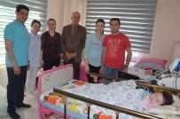 Minik SMA Hastalarını Dr. Ali Mumcu Ziyaret Etti