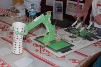 AHMET DEMIRCI - Ortaokul Öğrencisi 40 TL'lik Malzemeyle Robot Kol Yaptı