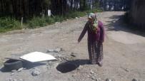 KANALİZASYON - Üstü Açık Kanalizasyon Çukurları Ölüm Saçıyor